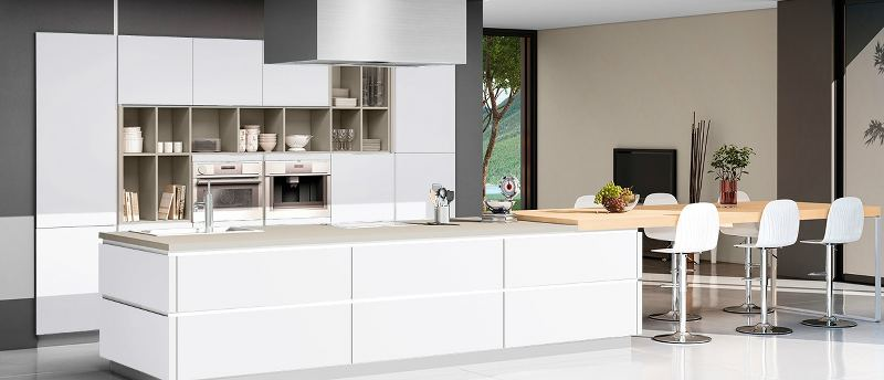 Greeploze Keuken Met Kookeiland : Moderne keukens ? kristal keukens
