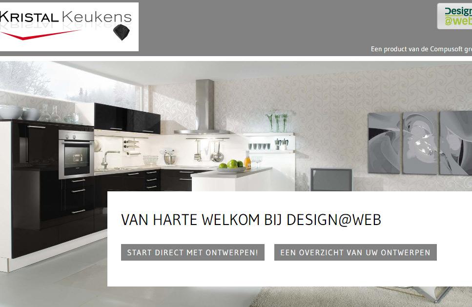 Uw eigen keuken ontwerpen met het ontwerp software van kristal keukens