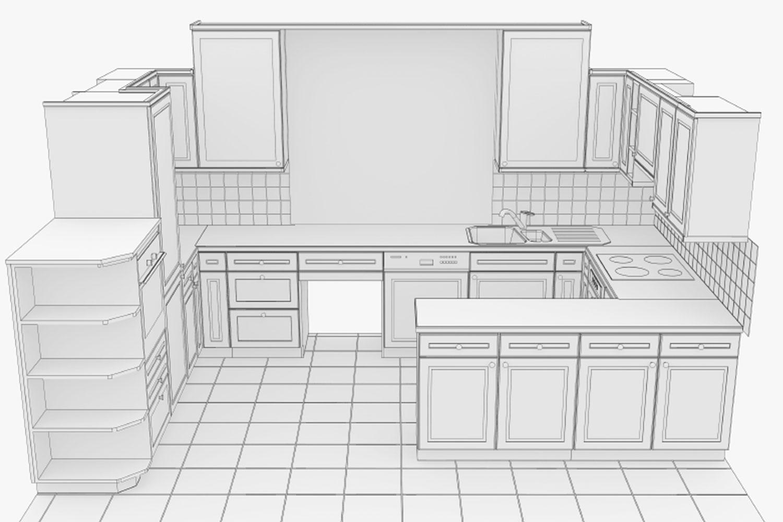 3D Keuken